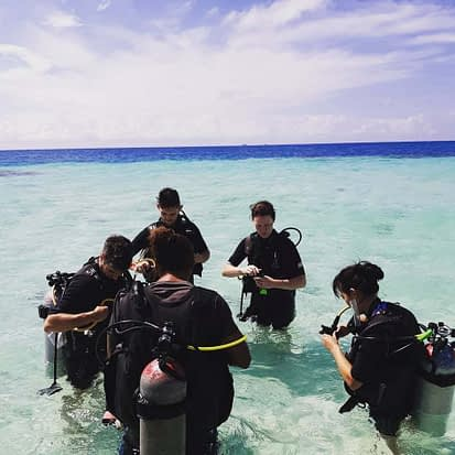 Discover Scuba Diving at Laughing Bird Caye